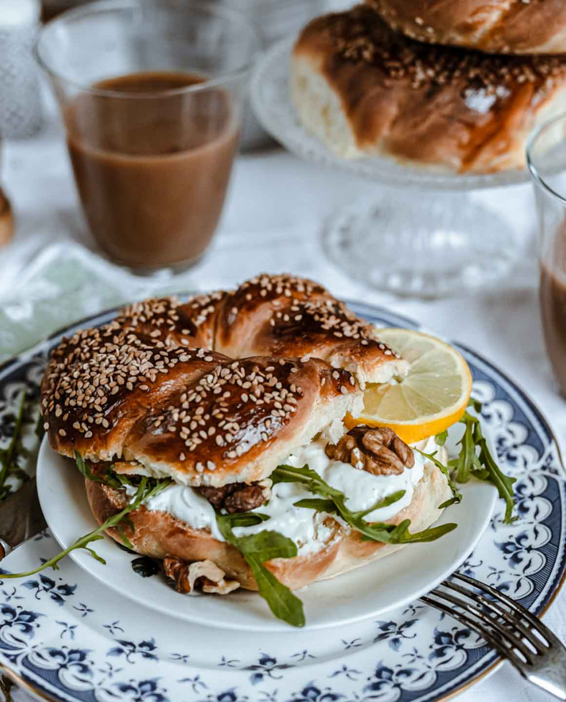 Easter Breakfast: Twisted Bagels with Masala Chai